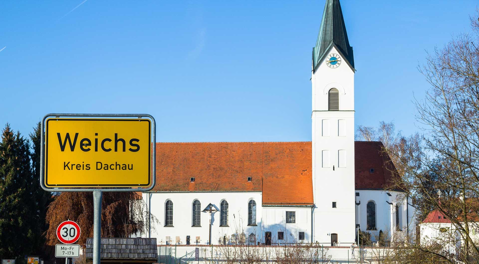 Weichs in der Region Dachau